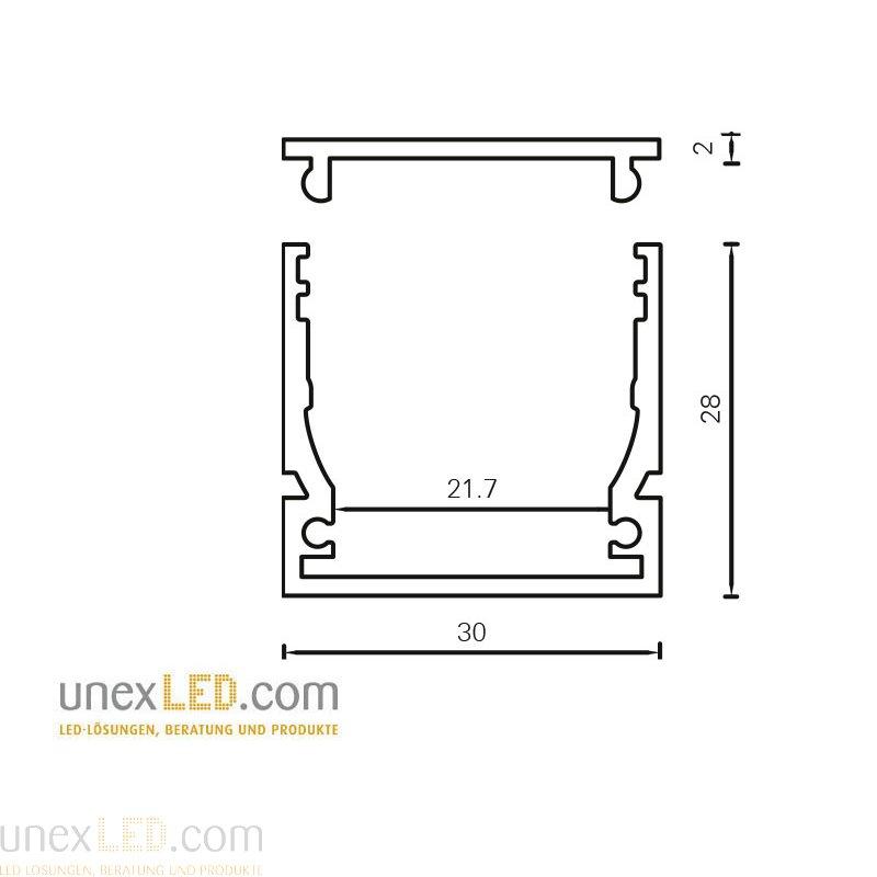 Nosilec 30.0 x 28.0 mm ABS 3
