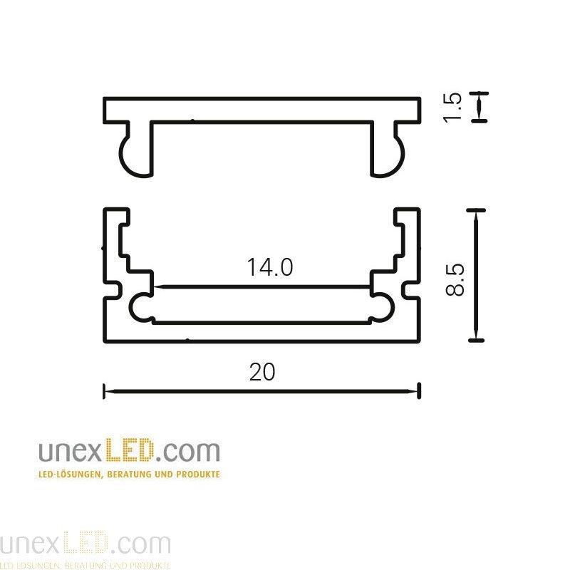 Pokrov polikarbonat 3000 mm 6
