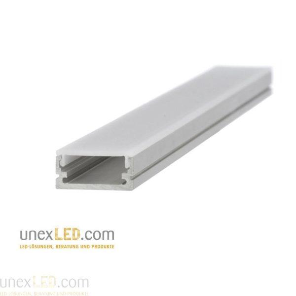 Aluminijasti profil 20,0 x 8,5 mm, eloksiran 3000 mm 1