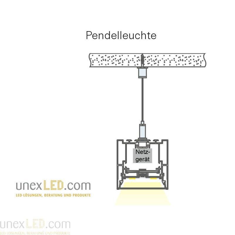 ALU PROFIL anodiziran 2500 mm, profil 54,0 x 70,0 mm 3