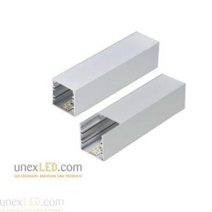 60 mm okrogel profil aluminij anodiziran 2500 mm 3