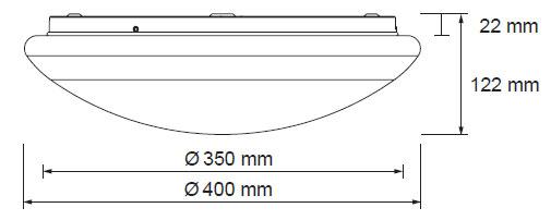 Diamant LED 20/24W 1