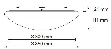 Diamant LED svetilo 17W 1