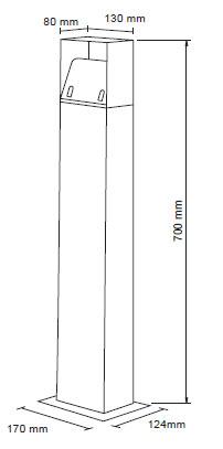 Lim LED stebriček 1