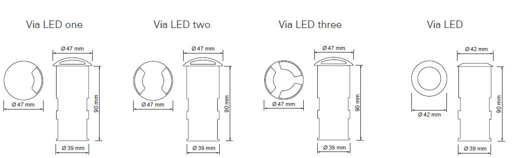 Via LED 3
